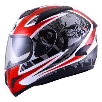 Helmets KYT Veron Seri 1 Red White