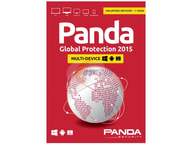 Panda Global Protection 2015 (Internet Security & Antivirus) - Unlimited Devices - 1 Year