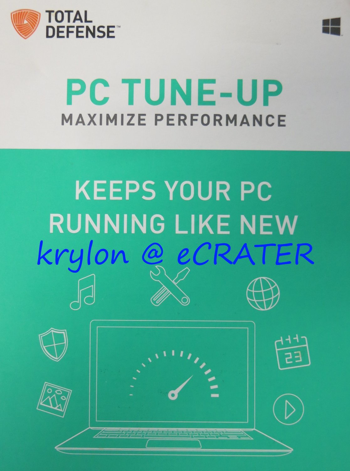 Total Defense PC Tune-Up 2018 - 1 PC - 1 Year