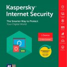 [Region Locked] Kaspersky Internet Security 2018 1 PC Device 1 Year Product Key Download