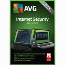 AVG Internet Security 2018 - Unlimited Devices - 2 Years - Digital Product Key