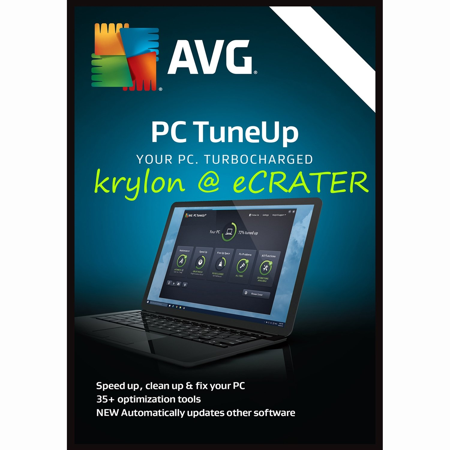 AVG TuneUp 2018 - Unlimited Devices - 1 Year