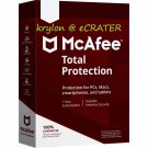 McAfee Total Protection 2018 - UNLIMITED PCs / Devices - 1 Year Full Version Product Key Download