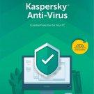 [Region Locked] [Digital Delivery] Kaspersky Anti-Virus 2020 3 PCs 1 Year Product Key 2019