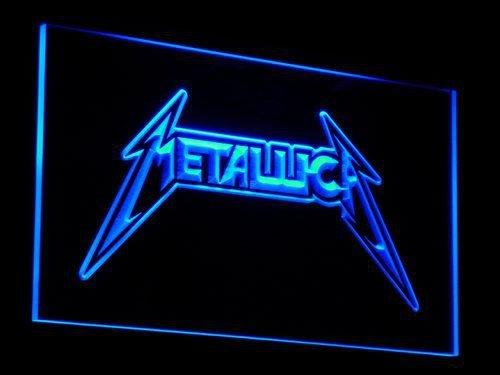 METALLICA 3D LED NEON LIGHT SIGN MUSIC BAND ROCK- $2 SHIPPING