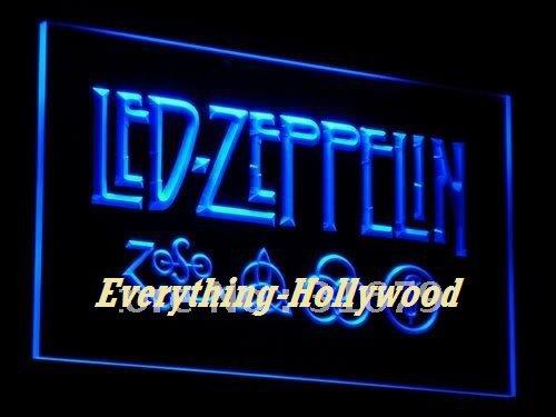 Led Zepplin 3D LED Neon Light Sign Music Band - GREAT GIFT