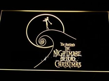 Nightmare Before Christmas LED Neon Sign- FREE SHIPPING