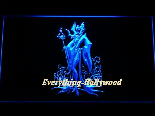 Maleficent Disney Character Neon Light Sign - FREE SHIPPING