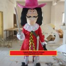 Captain Hook Character Disney Peter Pan Mascot Costume