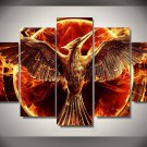 Hunger Games Movie Framed 5pc Oil Painting Wall Decor room art