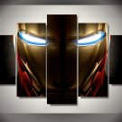 Iron Man Movie Framed 5pc Oil Painting Wall Decor Superhero bedroom art