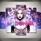 Madonna 5pc Framed Oil Painting Wall Decor - Music Artist - $3 Shipping