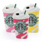 Starbucks 3D Silicon Iphone Case Cover for 5 5s 5G