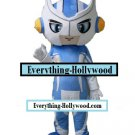 SuperHero Anime Mascot Character Adult Costume -Blue