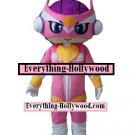 SuperHero Anime Mascot Character Adult Costume -Pink
