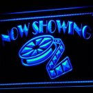 Now Showing Hollywood Film Reel Movie 3D LED Neon Light Sign - FREE SHIPPING