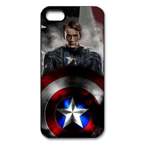 Captain America Movie Design for iPhone 4 4S 5 5S 5C-$1 SHIP