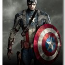 Captain America 2 Movie Winter Soldier Hollywood Silk Print Wall Poster 24x36 Superhero