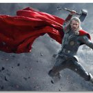 Thor Movie Hollywood Silk Print Wall Poster 24x36 Superhero