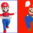 Super Mario Character Mascot Adult Costume SALE PRICED