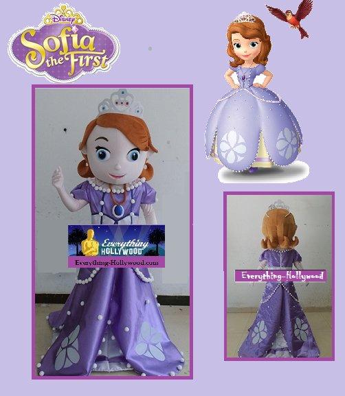 /Princess Sophia Character Adult Mascot Costume SALE PRICED