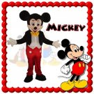 MICKEY MOUSE Character Mascot Adult Costume- SALE