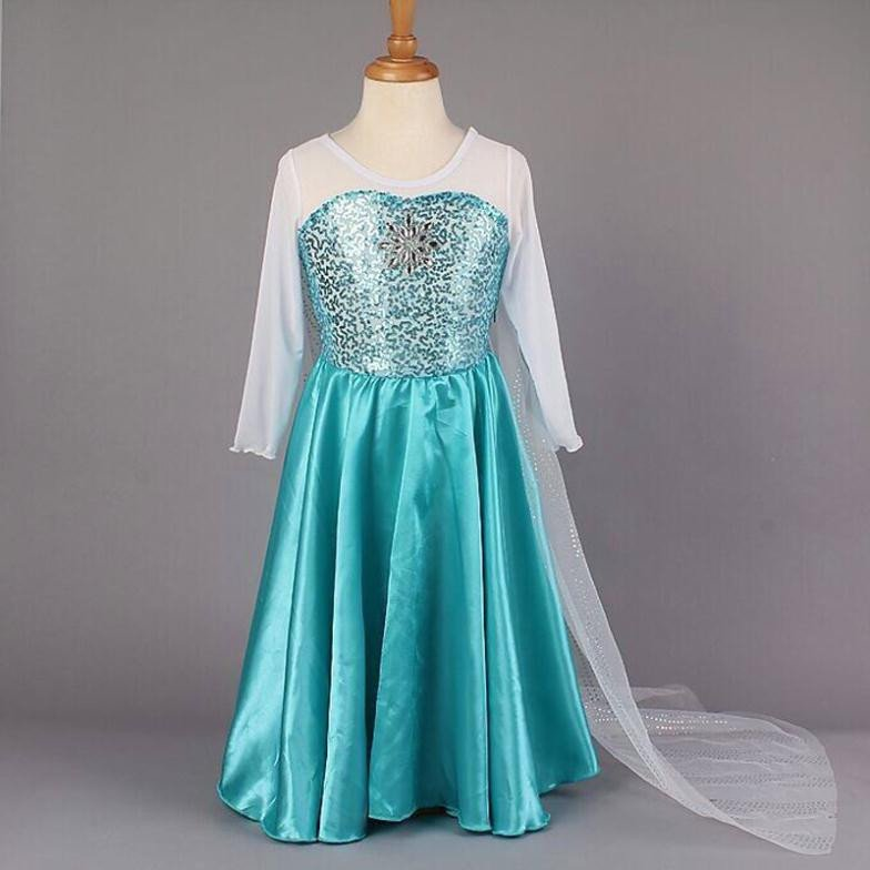 Cinderella Princess Character Dress Child 3t 4t 5 6 7: Elsa Frozen Princess Character Costume Dress CHILD 3T, 4T