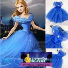NEW CINDERELLA Princess Character Costume Dress CHILD (3T,4T, 5-10)