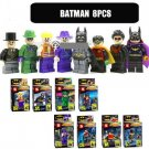 Batman Series Character Collection of 8 Set w/Boxes Mini Figures Building Blocks Minifigures Compatible
