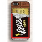 Wonka Bar Golden Ticket Chocolate iPHONE Case Cover 5 5S -