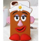 Mrs Potato Head Silicon Iphone Case Cover for 5 5s
