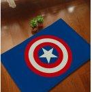 Captain America Accent Bedroom Carpet, Bath or Door Mat -NEW