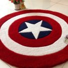 Captain America Shield Accent Rug Living or Bedroom LG- $5 ship