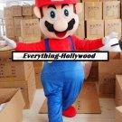 Super Mario Mascot Costume Gaming/Cartoon Character