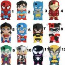 Captain America, Spiderman, Wonder Woman, Batman, Iron Man iphone 5 covers - SALE
