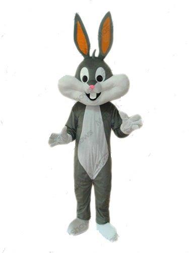 Bugs Bunny Mascot Costume Adult Cartoon Character