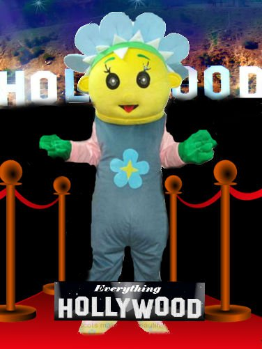 Fifi and the Flowertots Mascot Costume Cartoon Character