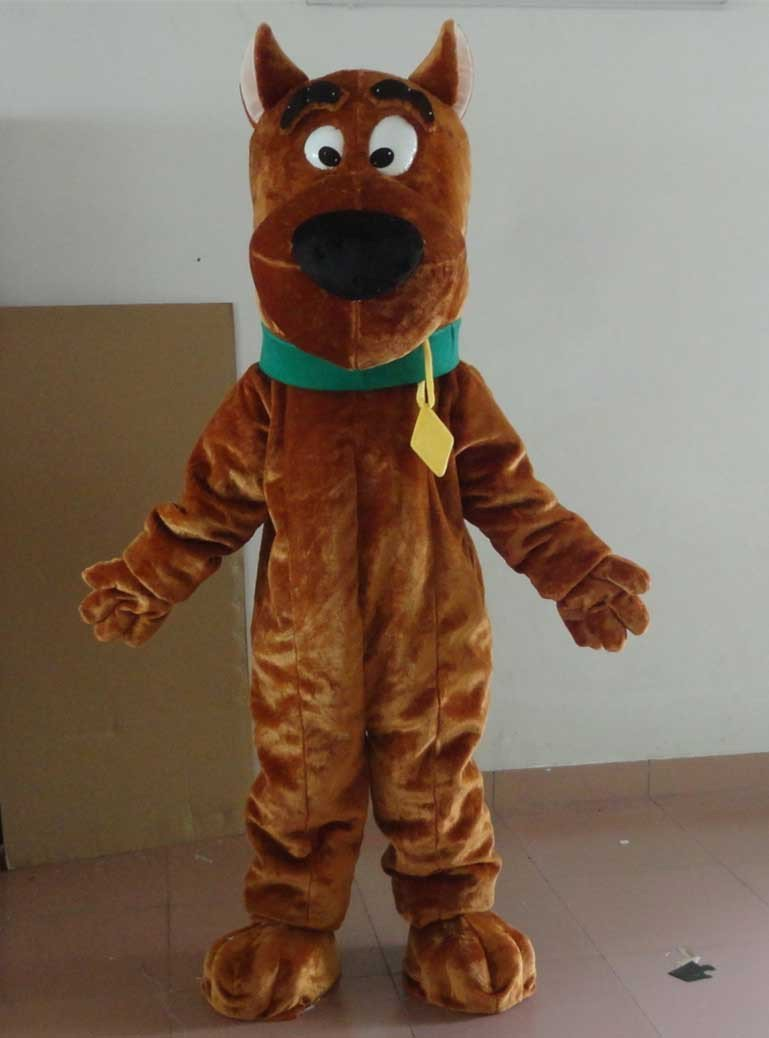 Scooby Doo Mascot Costume Cartoon Character -New 2015