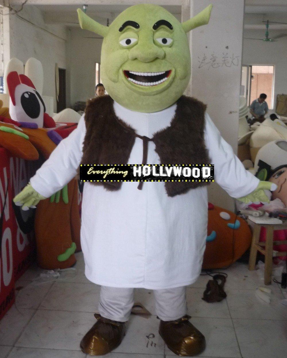 Shrek Mascot Costume Disney Cartoon Character -New 2015