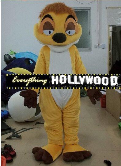 Timon Mascot Costume Disney Cartoon Lion King Character -New 2015