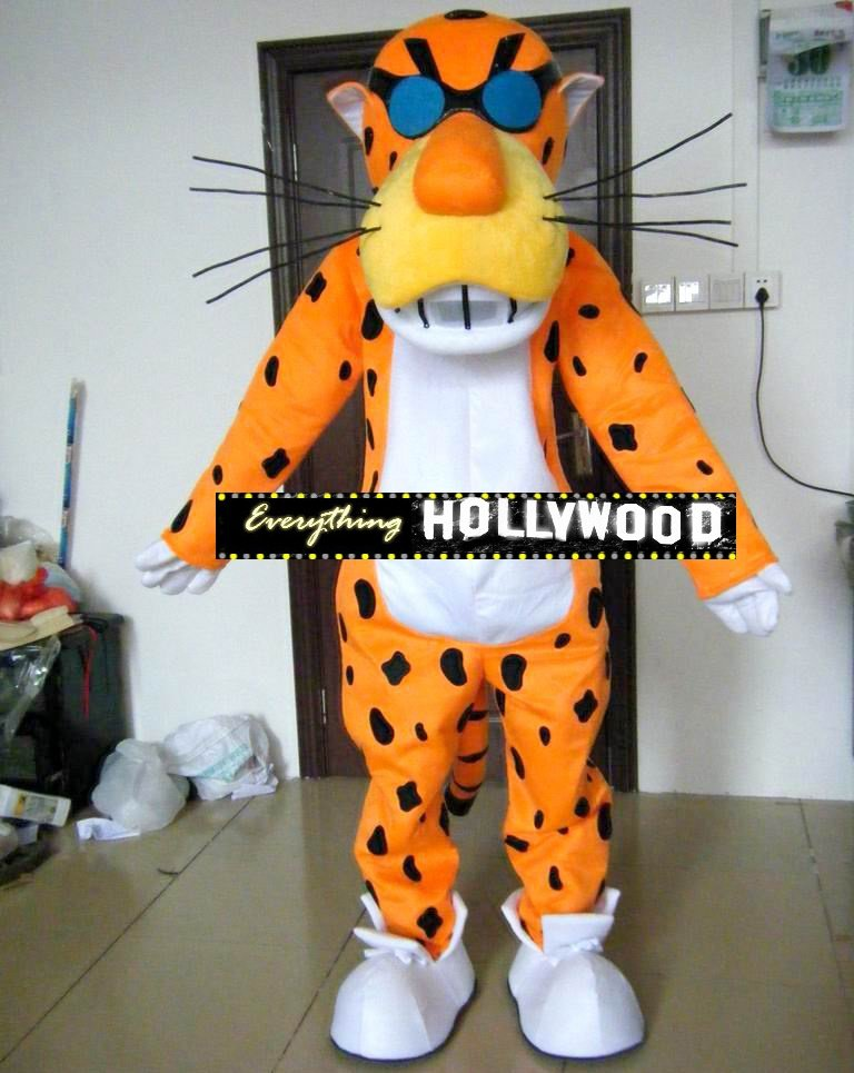 Chester Cheetah Mascot Costume Brand Advertising Character -New 2015