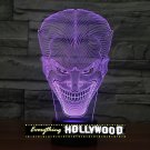 The Joker 3D LED Light Lamp Tabletop Character Decor 7 Colors -NEW