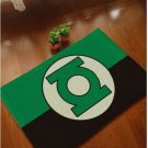 Green Lantern Accent Bedroom Carpet, Bath or Door Mat -NEW