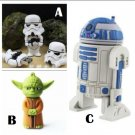 Star Wars Character USB Flash Drives 8GB r2d2 yoda storm trooper -