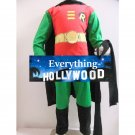 DC Robin Young Justice Boys Child Costume Custom Marvel Halloween