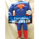 Superman Muscle Boys Child Costume Custom Marvel Halloween