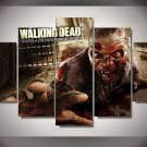 The Walking Dead Premier 5pc Wall Decor Framed Oil Painting Horror bedroom art