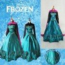 Anna Elsa Frozen Ladies Frozen Adult Costume Dress Female- SALE
