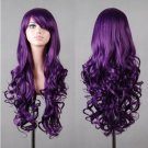 Hollywood Wig Purple Adult Costume Accessory Halloween Wig Cosplay