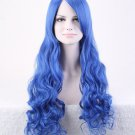 Hollywood Wig Blue Adult Costume Accessory Halloween Wig Cosplay